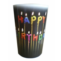 GLASS OF HAPPY BIRTHDAY