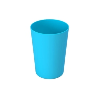 Set 6 units Blue Plastic Cup 600 ml