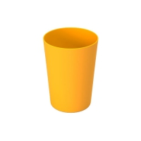 Set 6 units Yellow Plastic Cup 600 ml