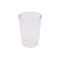 Set 6 units Crystal Plastic Cup 600 ml