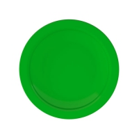 Set 6 units Green Dinner Plate 21 cm Ø