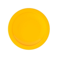 Set 6 units Yellow Dinner Plate 21 cm Ø