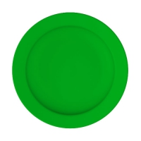 Set 6 units Green Soup Plate 24 cm Ø