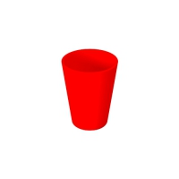 Set 6 units Red Plastic Cup 300 ml