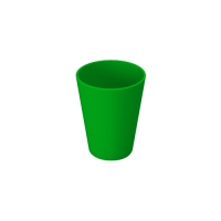 Set 6 units Green Plastic Cup 300 ml