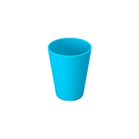 Set 6 units Blue Plastic Cup 300 ml