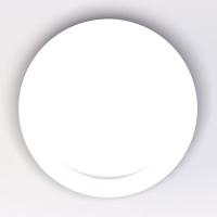 Set 6 units White Soup Plate 24 cm Ø