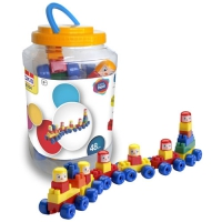BABY TRAIN 48 PIECES