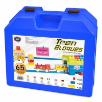 BLOCKIS 65 PIECES WITH ELECTRIC TRAIN