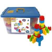 NEW! BLOCKIS XL 150 PIECES IN LARGE TOY BOX