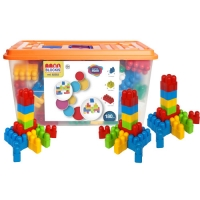 NEW! BLOCKIS XL 180 PIECES IN LARGE TOY BOX