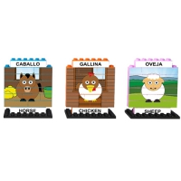PUZZLE UP ANIMALES DE GRANJA 102 PIEZAS