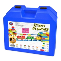COMBIS 82 PIECES WITH TRAIN