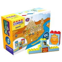 COMBIS STICKER EGYPT 104 PIECES