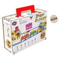 COMBIS DELUXE 82 PIECES WITH TRAIN
