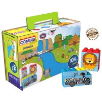 COMBIS STICKER JUNGLE 104 PIECES